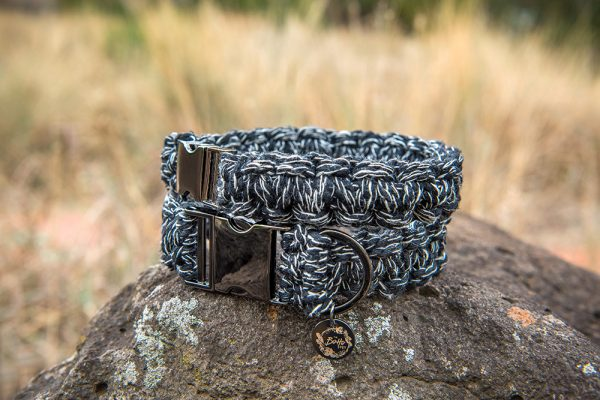 macrame dog collars