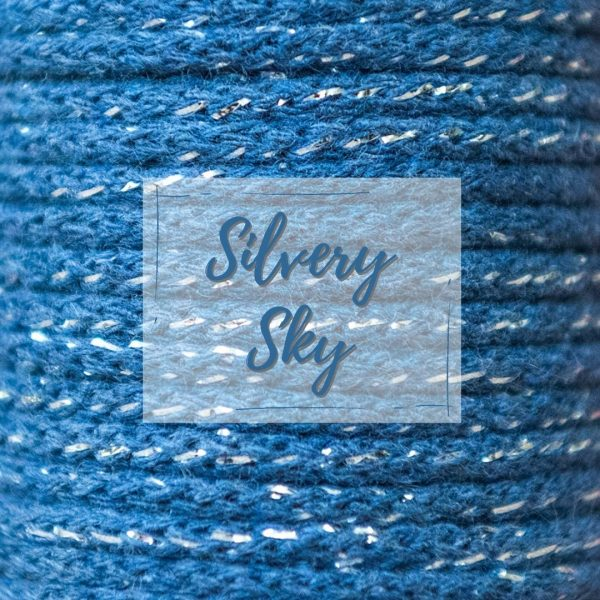 silvery sky metallic thread