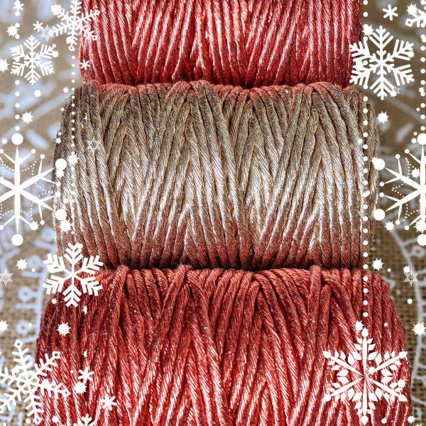 christmas metallic thread